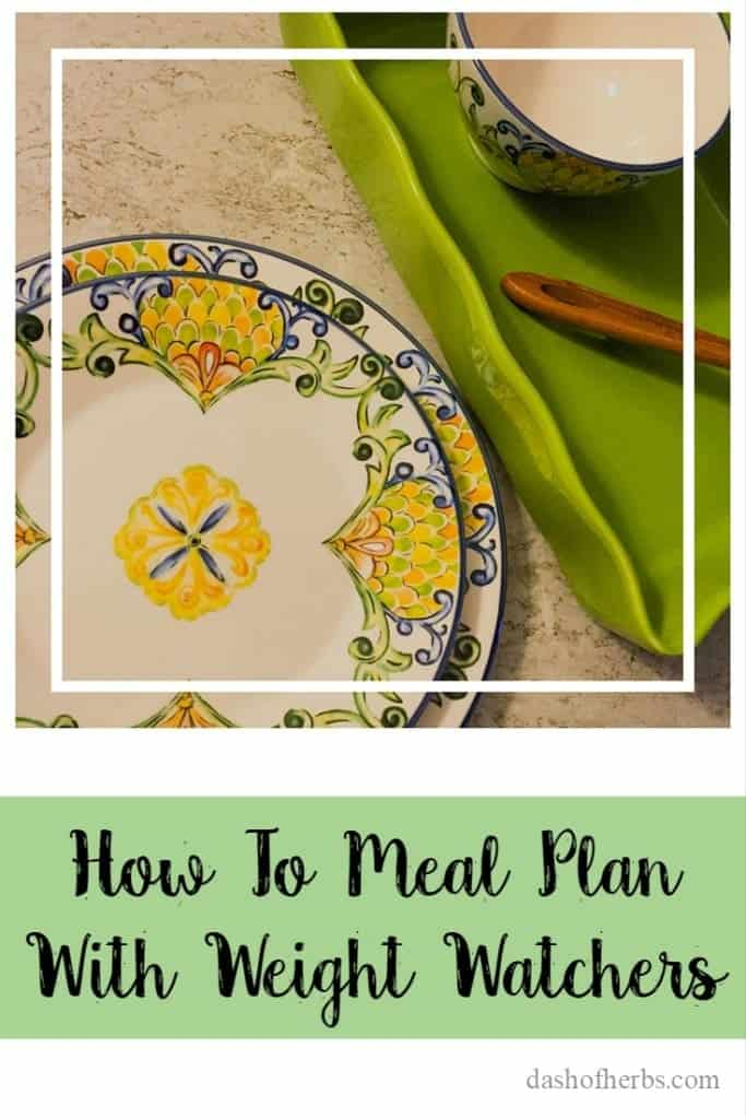 Meal planning is key to be successful with Weight Watchers. Find out how to effectively do that today!