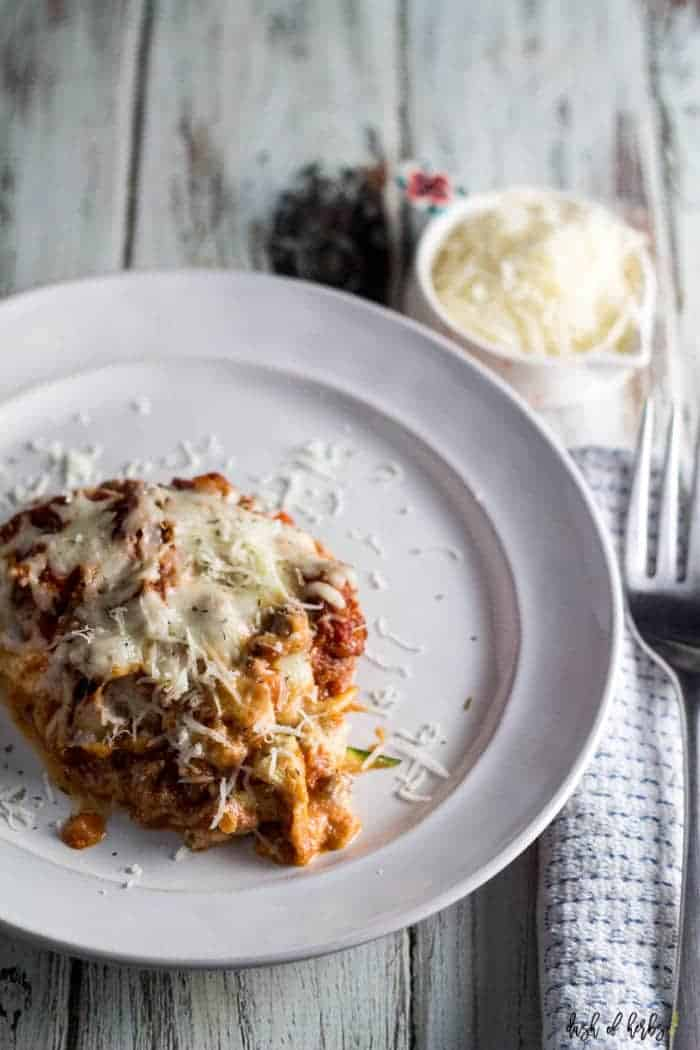 Lightened Up Lasagna