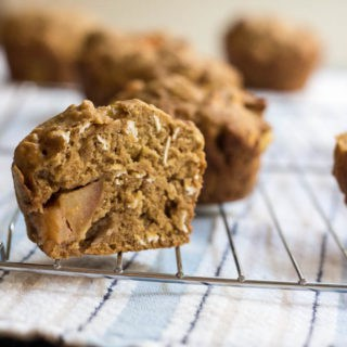 Stuffed Apple Cider Muffins