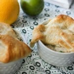 Mini Creamy Chicken Pot Pies
