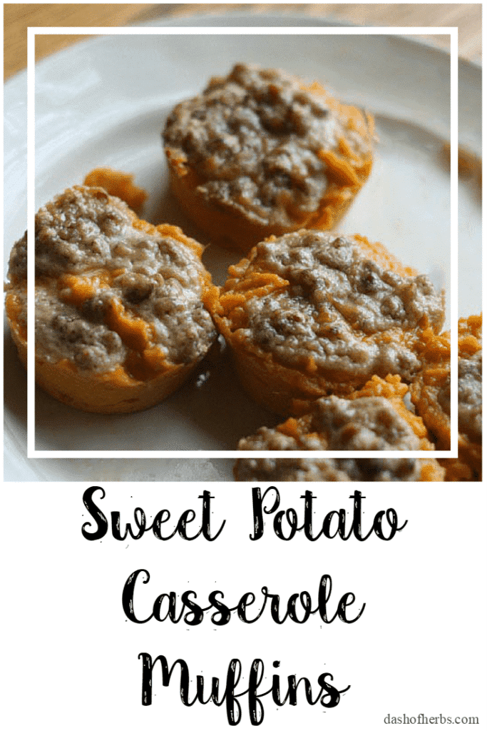 Sweet Potato Casserole Muffins