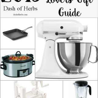 Trying to find a holiday gift for the cooking lover in your life? Here's a gift guide for the cook who might have everything. Great info!