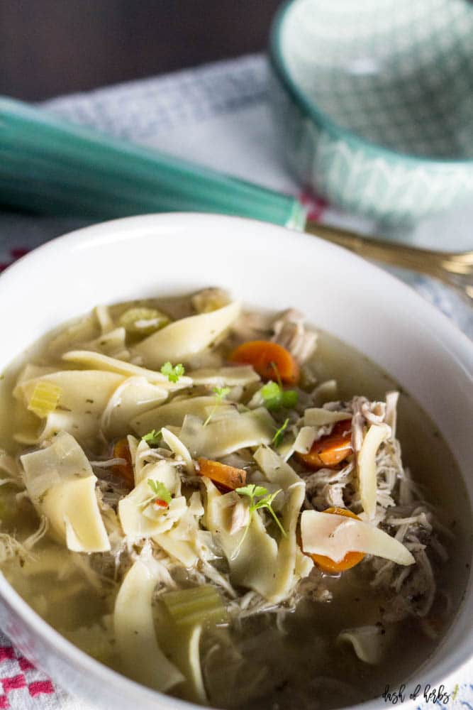 Easy and Quick Chicken Noodle Soup