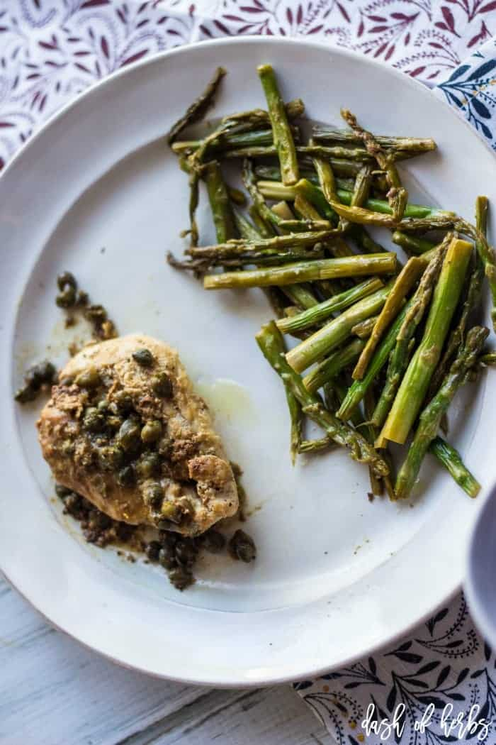 Creamy Lemon Chicken with Capers