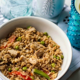 Easy and Healthy Chicken Fried Rice