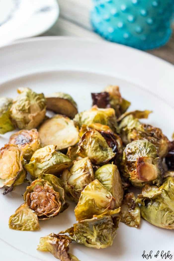Balsamic and Honey Brussel Sprouts