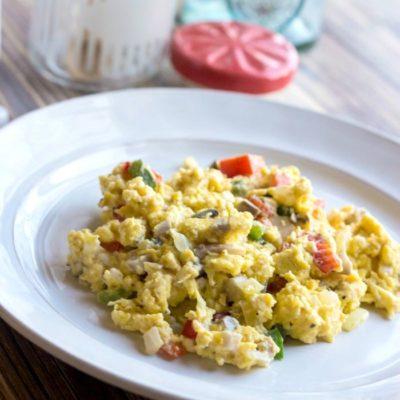Make Ahead Egg Scramble + Giveaway