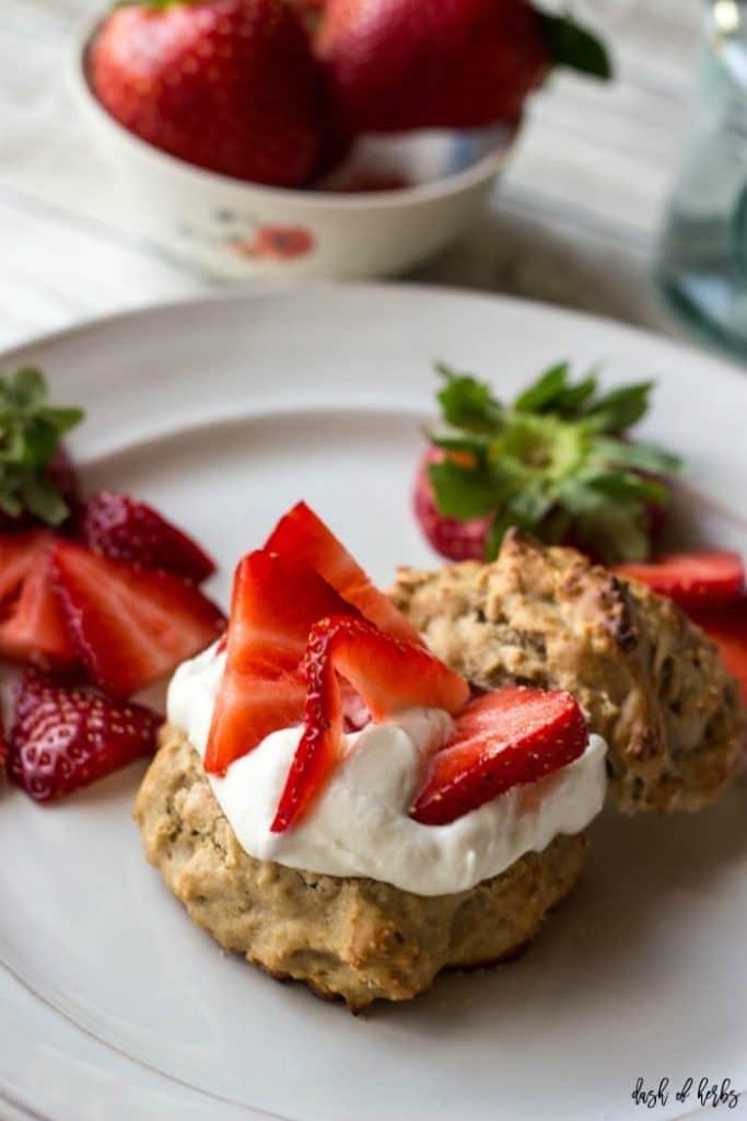 Strawberry Lemon Shortcakes