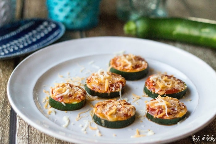 Zucchini Pizza Poppers