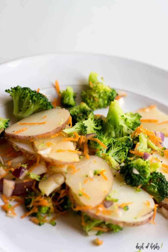 Easy Potato and Broccoli Mashup