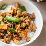 Lightened Sweet and Sour Chicken Stir Fry