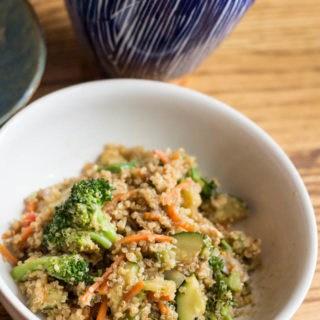 Vegetable Fried Quinoa