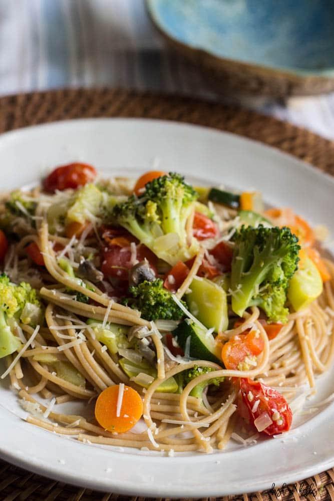 Vegetarian Pasta Primavera