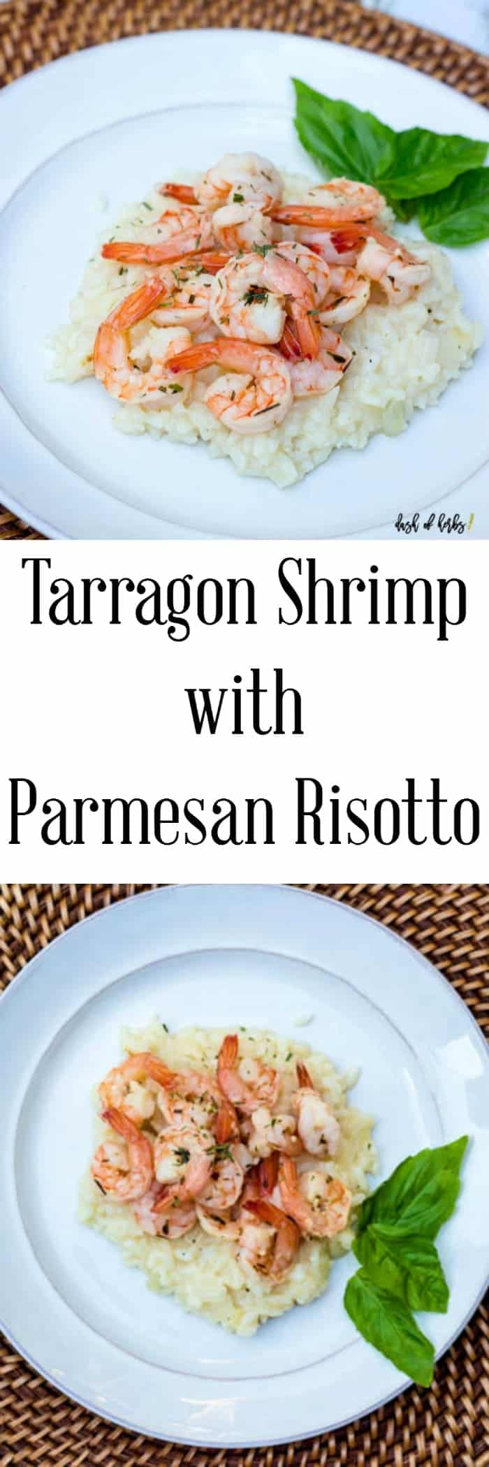 tarragon-shrimp-with-parmesan-risotto