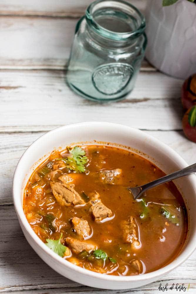 White Bean Pork Chili