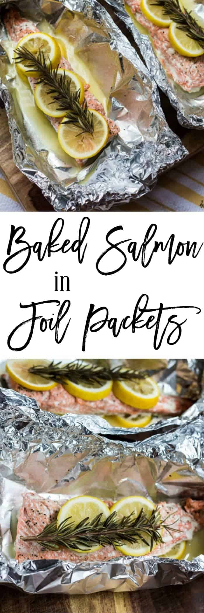 Baked salmon in foil packets dash of herbs for Fish foil packets oven