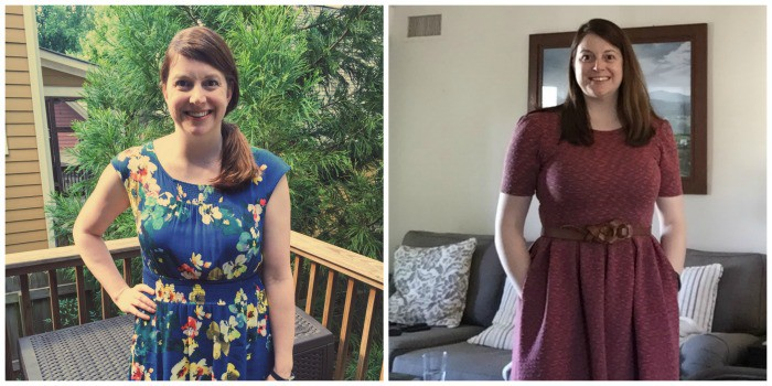Wondering what a 20lb difference is? Here you go. The picture on the right was taken February 2016. The picture on the left was taken August 2016, 2 months after joining Weight Watchers.