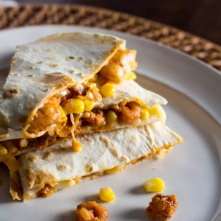 Easy Shrimp Quesadillas