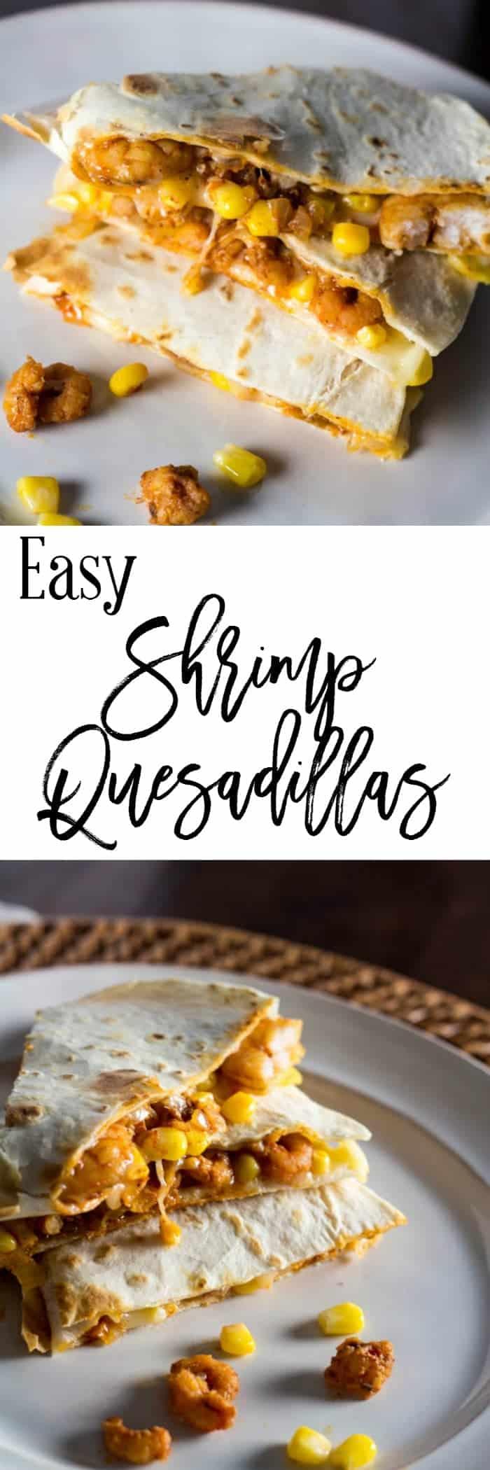 Easy Shrimp Quesadillas