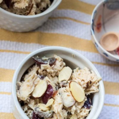 Easy Almond Chicken Salad
