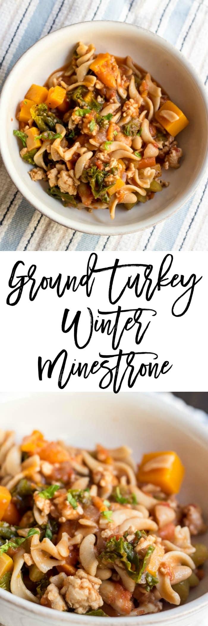 Ground Turkey Winter Minestrone