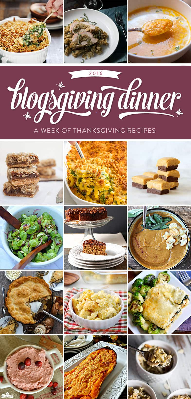 2016 Blogsgiving - Thanksgiving thrown by bloggers.