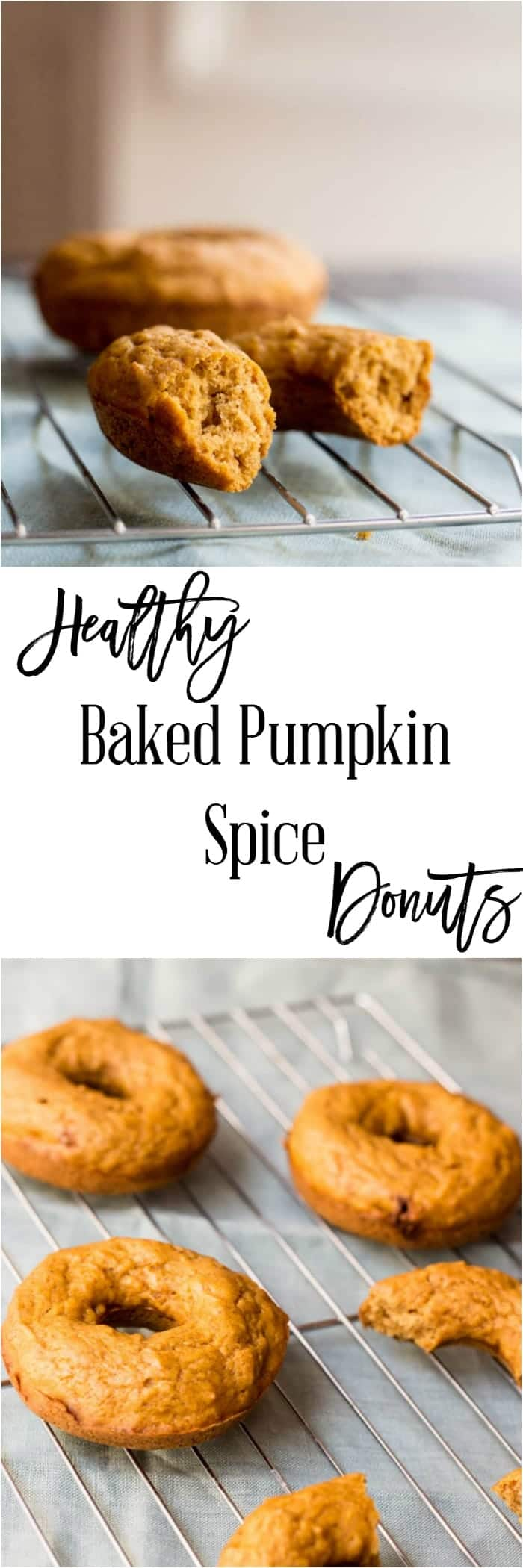 Healthy Baked Pumpkin Spice Donuts