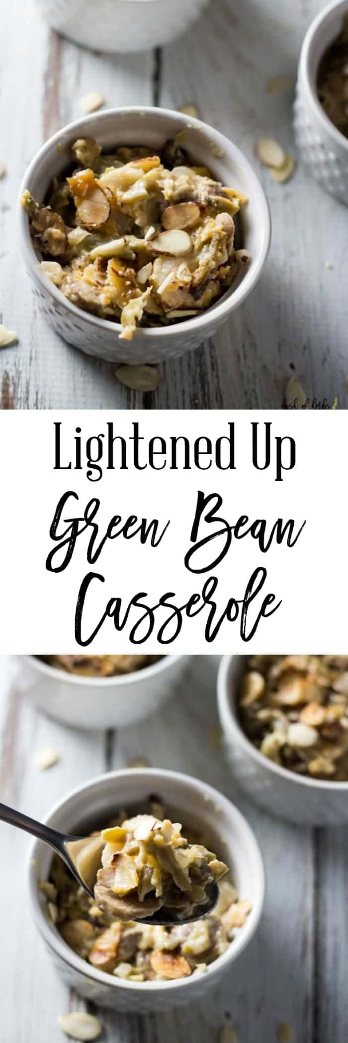 Lightened Up Green Bean Casserole