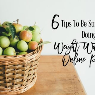 6 Tips To Be Successful Doing Weight Watchers Online Plus