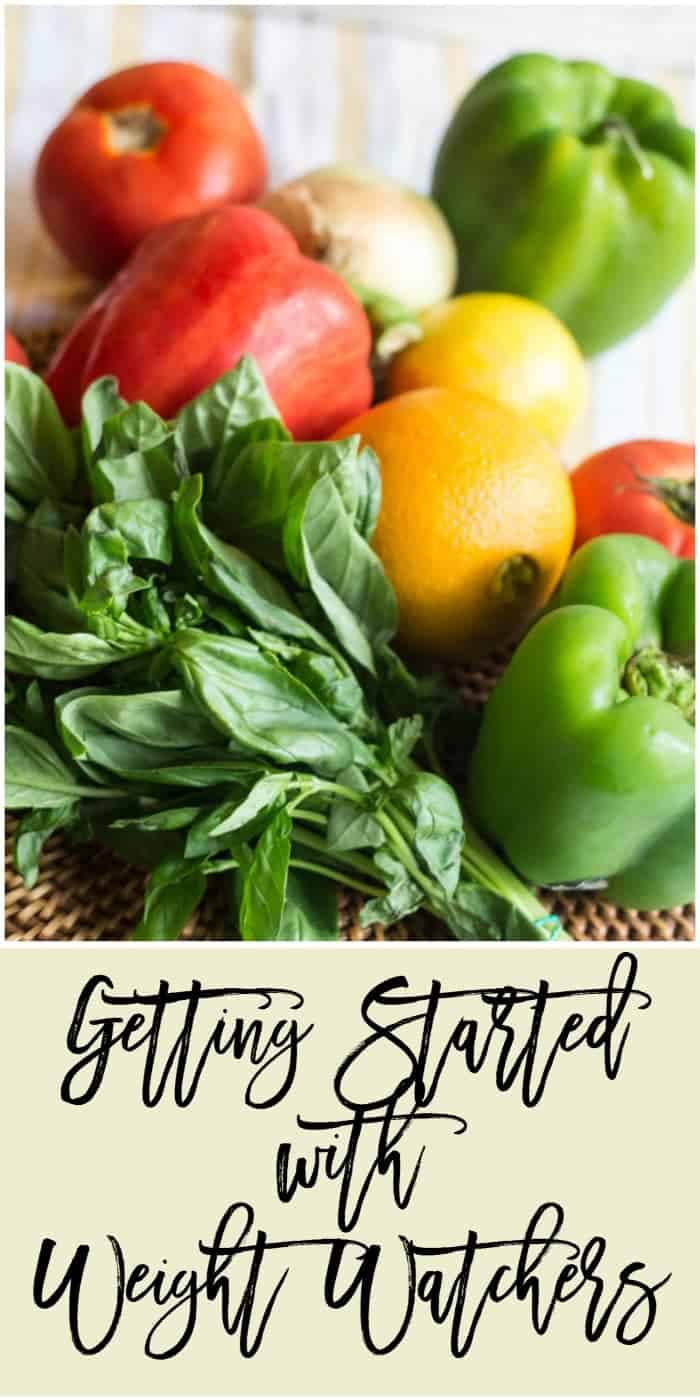 Getting Started with Weight Watchers