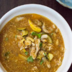 Slow Cooker Moroccan Chicken Soup