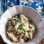 Barley and Chicken Risotto