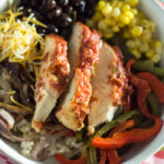 Sheet Pan Chicken Fajita Bowl