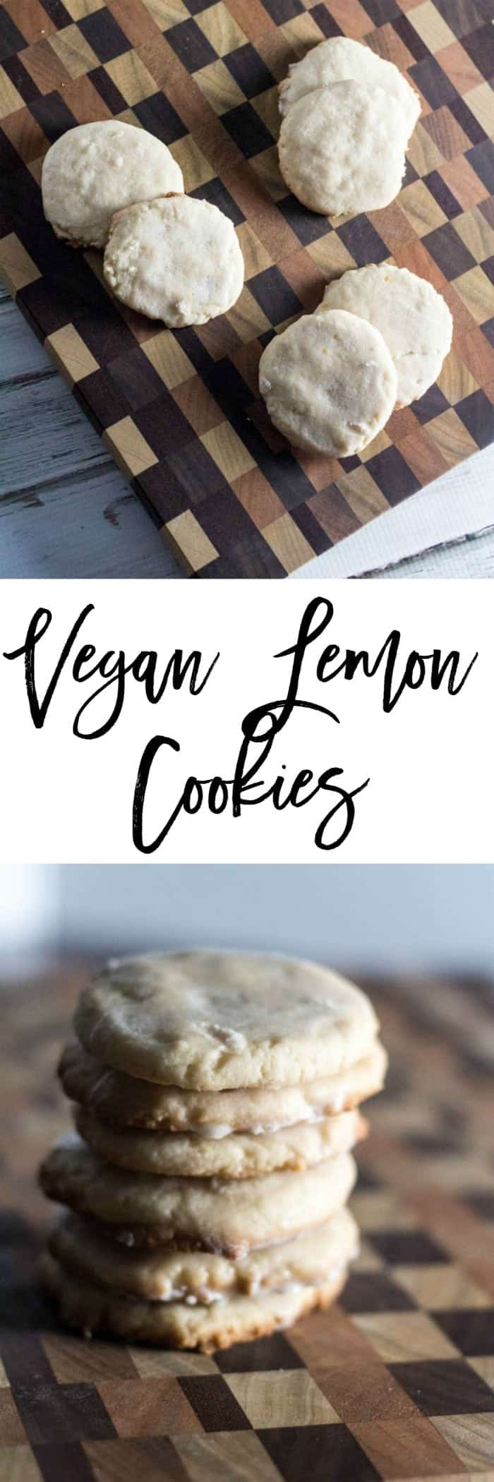 If you have a craving for cookies, try these vegan lemon cookies.  Don't let the word vegan throw you off - it just means there are no eggs in them.  The lemon zest in these cookies adds a freshness to them that you don't expect and a flavor that is unmatched in any other cookie.  Come and try them for yourself!