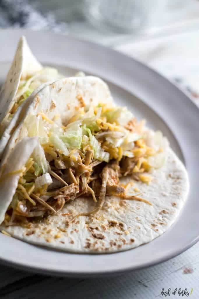 Instant Pot Easy Chicken Tacos