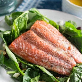 Simple Salmon Summer Salad