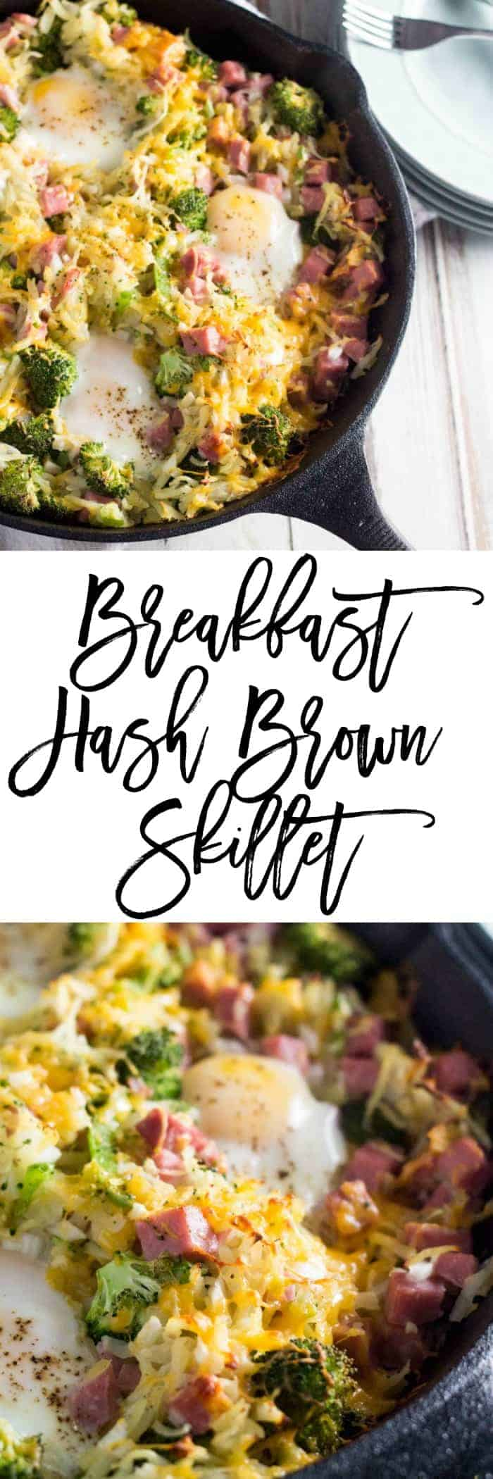 Breakfast Hash Brown Skillet