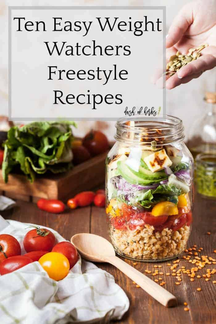 If you are new to Weight Watchers, try these ten easy Weight Watchers Freestyle recipes to help you get a great start to your new lifestyle.