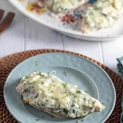 Baked Ricotta Spinach Chicken