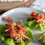 Low Carb Beef Taco Wraps